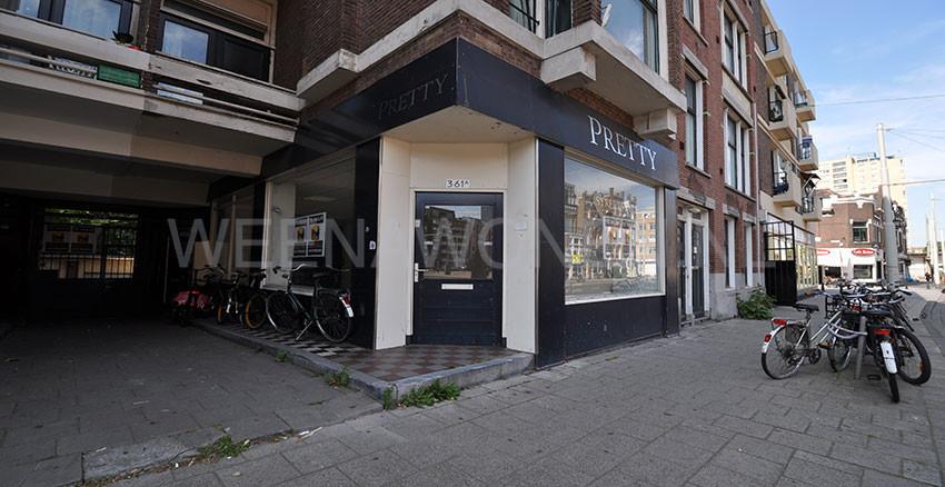Winkelruimte te huur op de Bergweg in het Oude Noorden te Rotterdam    Weenawonen