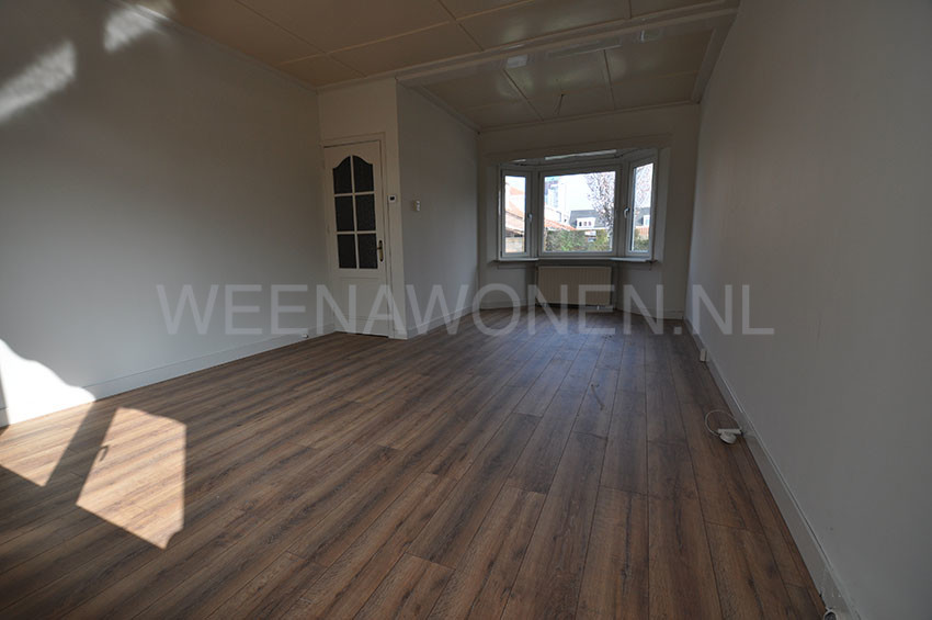 For rent four rooms house with garden at the Paul Krugerstraat in Ridderkerk.