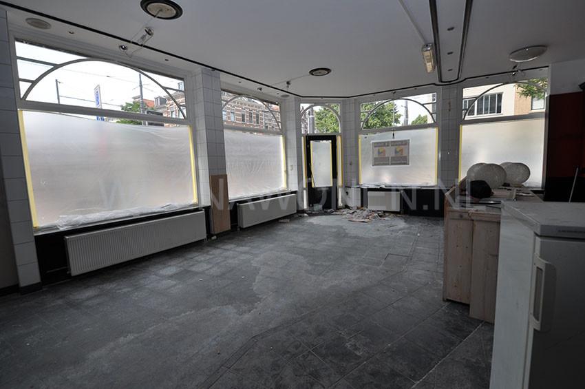 Te huur hoekpand winkelpand aan de nieuwe binnenweg 256 for Studio te huur rotterdam